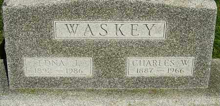 WASKEY, EDNA - Montgomery County, Ohio | EDNA WASKEY - Ohio Gravestone Photos