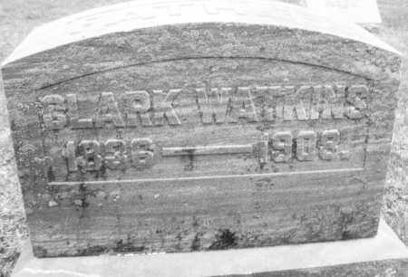 WATKINS, CLARK - Montgomery County, Ohio | CLARK WATKINS - Ohio Gravestone Photos