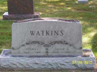 "WATKINS, CHARLES ""CHARLEY"" - Montgomery County, Ohio | CHARLES ""CHARLEY"" WATKINS - Ohio Gravestone Photos"