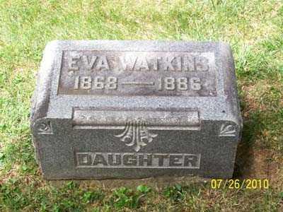 WATKINS, EVA - Montgomery County, Ohio | EVA WATKINS - Ohio Gravestone Photos