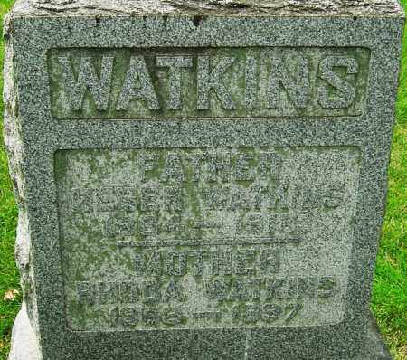 WATKINS, HEBER - Montgomery County, Ohio | HEBER WATKINS - Ohio Gravestone Photos