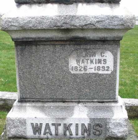 WATKINS, JOHN C. - Montgomery County, Ohio | JOHN C. WATKINS - Ohio Gravestone Photos