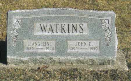 WATKINS, LOIS ANGELINE - Montgomery County, Ohio | LOIS ANGELINE WATKINS - Ohio Gravestone Photos