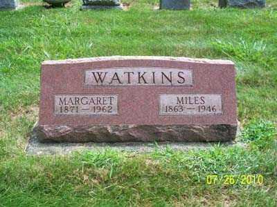 WATKINS, MILES - Montgomery County, Ohio | MILES WATKINS - Ohio Gravestone Photos