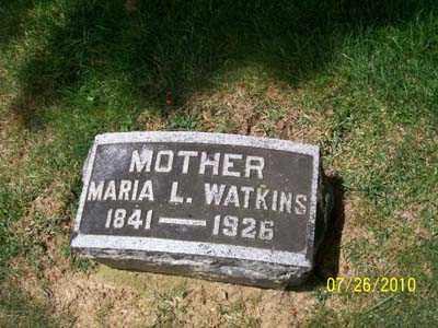LAWSON WATKINS, MARIA L - Montgomery County, Ohio | MARIA L LAWSON WATKINS - Ohio Gravestone Photos