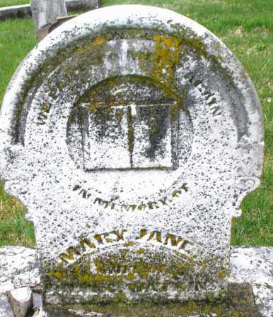 WATKINS, MARY JANE - Montgomery County, Ohio | MARY JANE WATKINS - Ohio Gravestone Photos