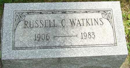 WATKINS, RUSSELL CLARK - Montgomery County, Ohio | RUSSELL CLARK WATKINS - Ohio Gravestone Photos