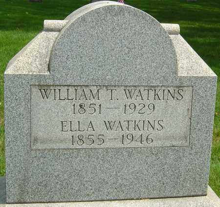 WATKINS, WILLIAM TAYLOR - Montgomery County, Ohio | WILLIAM TAYLOR WATKINS - Ohio Gravestone Photos