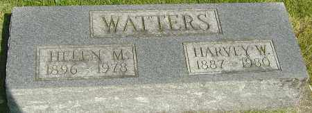 WATTERS, HARVEY W - Montgomery County, Ohio | HARVEY W WATTERS - Ohio Gravestone Photos