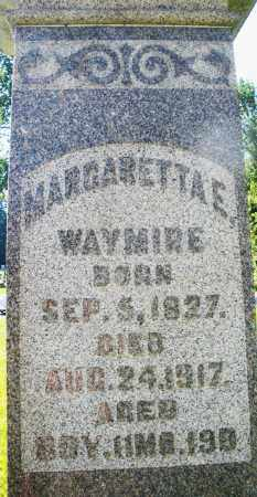 WAYMIRE, MARGARETTA E. - Montgomery County, Ohio | MARGARETTA E. WAYMIRE - Ohio Gravestone Photos
