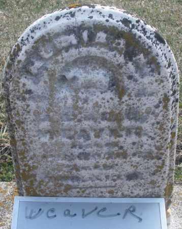 WEAVER, ? - Montgomery County, Ohio | ? WEAVER - Ohio Gravestone Photos