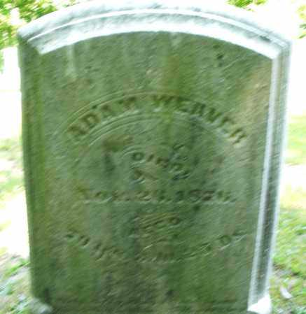 WEAVER, ADAM - Montgomery County, Ohio | ADAM WEAVER - Ohio Gravestone Photos