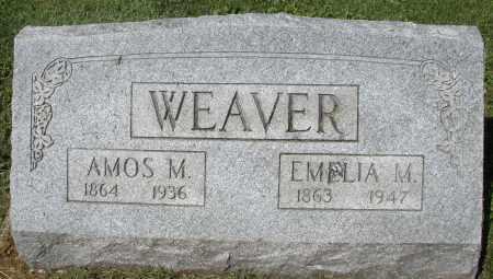 WEAVER, EMELIA M. - Montgomery County, Ohio | EMELIA M. WEAVER - Ohio Gravestone Photos