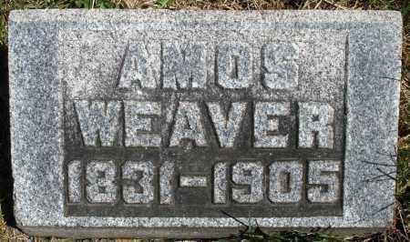 WEAVER, AMOS - Montgomery County, Ohio | AMOS WEAVER - Ohio Gravestone Photos