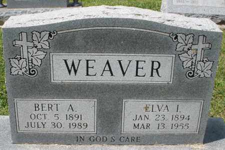 WEAVER, BERT A. - Montgomery County, Ohio | BERT A. WEAVER - Ohio Gravestone Photos