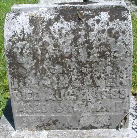 WEAVER, CLARENCE - Montgomery County, Ohio | CLARENCE WEAVER - Ohio Gravestone Photos