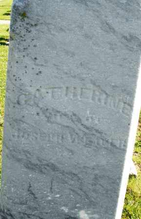 WEAVER, CATHERINE - Montgomery County, Ohio | CATHERINE WEAVER - Ohio Gravestone Photos