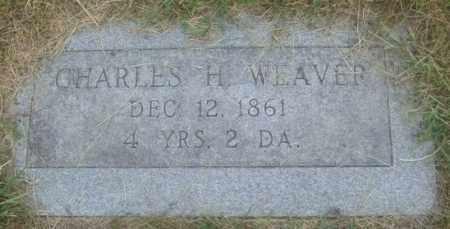 WEAVER, CHARLES H. - Montgomery County, Ohio | CHARLES H. WEAVER - Ohio Gravestone Photos
