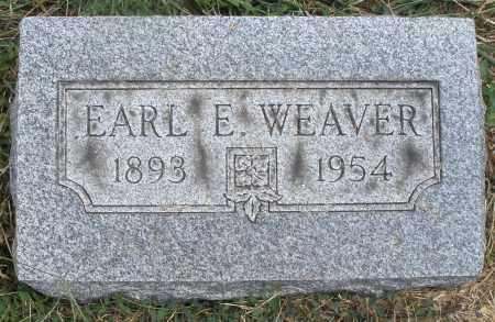 WEAVER, EARL E. - Montgomery County, Ohio | EARL E. WEAVER - Ohio Gravestone Photos