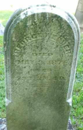 WEAVER, GEORGE - Montgomery County, Ohio   GEORGE WEAVER - Ohio Gravestone Photos