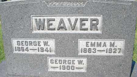 WEAVER, GEORGE W. - Montgomery County, Ohio | GEORGE W. WEAVER - Ohio Gravestone Photos