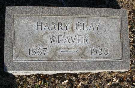 WEAVER, HARRY CLAY - Montgomery County, Ohio | HARRY CLAY WEAVER - Ohio Gravestone Photos