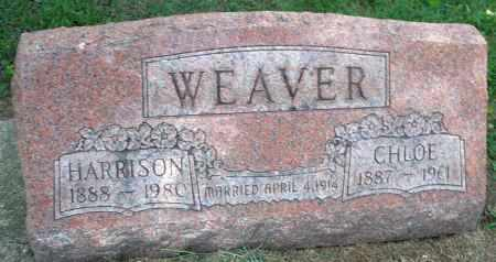WEAVER, CHLOE - Montgomery County, Ohio | CHLOE WEAVER - Ohio Gravestone Photos
