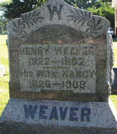 WEAVER, NANCY - Montgomery County, Ohio | NANCY WEAVER - Ohio Gravestone Photos