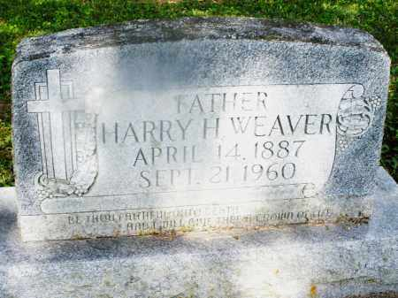WEAVER, HARRY H. - Montgomery County, Ohio | HARRY H. WEAVER - Ohio Gravestone Photos