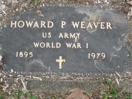 WEAVER, HOWARD P. - Montgomery County, Ohio | HOWARD P. WEAVER - Ohio Gravestone Photos