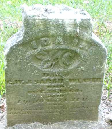 WEAVER, IDA - Montgomery County, Ohio | IDA WEAVER - Ohio Gravestone Photos