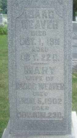 WEAVER, ISAAC - Montgomery County, Ohio | ISAAC WEAVER - Ohio Gravestone Photos