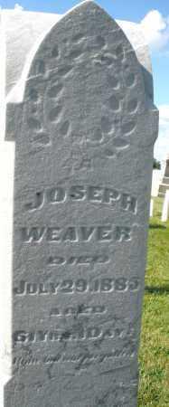 WEAVER, JOSEPH - Montgomery County, Ohio | JOSEPH WEAVER - Ohio Gravestone Photos