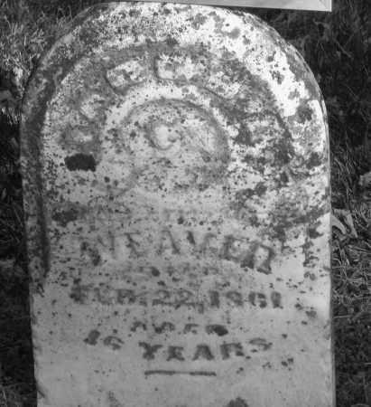 WEAVER, JACOB L. - Montgomery County, Ohio | JACOB L. WEAVER - Ohio Gravestone Photos
