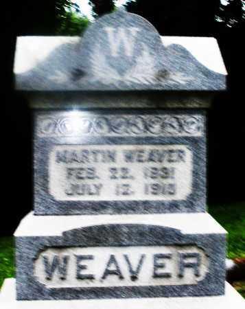 WEAVER, MARTIN - Montgomery County, Ohio | MARTIN WEAVER - Ohio Gravestone Photos
