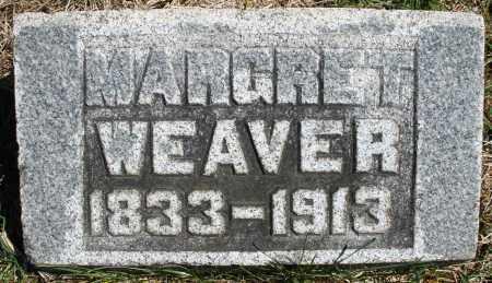 WEAVER, MARGARET - Montgomery County, Ohio | MARGARET WEAVER - Ohio Gravestone Photos