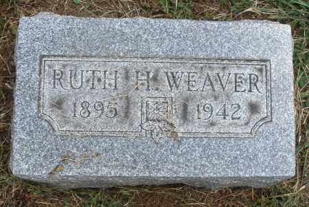 WEAVER, RUTH H. - Montgomery County, Ohio | RUTH H. WEAVER - Ohio Gravestone Photos