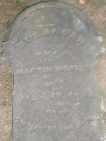 WEAVER, SUSANNAH - Montgomery County, Ohio | SUSANNAH WEAVER - Ohio Gravestone Photos