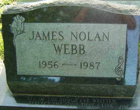 WEBB, JAMES NOLAN - Montgomery County, Ohio | JAMES NOLAN WEBB - Ohio Gravestone Photos
