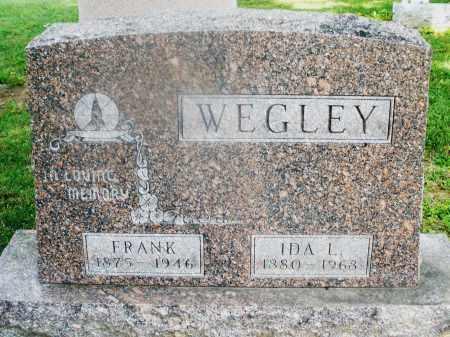 WEGLEY, IDA L. - Montgomery County, Ohio | IDA L. WEGLEY - Ohio Gravestone Photos
