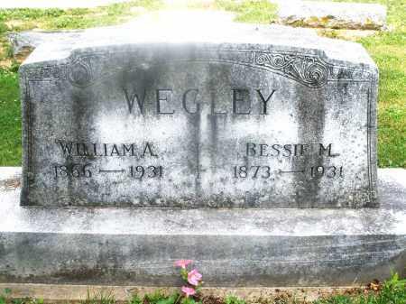 WEGLEY, WILLIAM A. - Montgomery County, Ohio | WILLIAM A. WEGLEY - Ohio Gravestone Photos