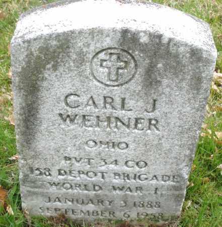 WEHNER, CARL J. - Montgomery County, Ohio | CARL J. WEHNER - Ohio Gravestone Photos