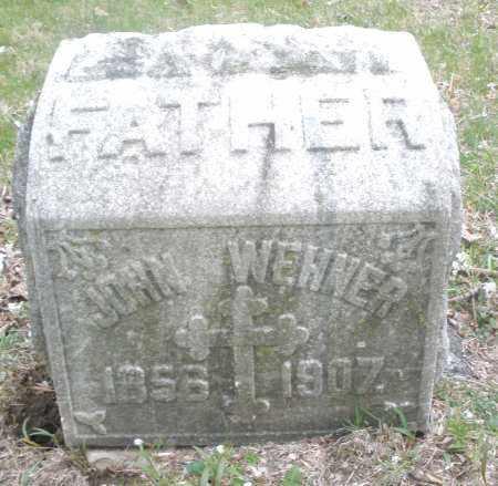 WEHNER, JOHN - Montgomery County, Ohio | JOHN WEHNER - Ohio Gravestone Photos