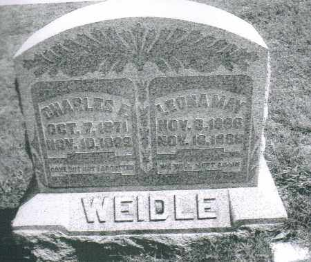 WEIDLE, LEONA MAY - Montgomery County, Ohio | LEONA MAY WEIDLE - Ohio Gravestone Photos
