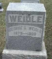WEIDLE, GEORGE A. - Montgomery County, Ohio | GEORGE A. WEIDLE - Ohio Gravestone Photos