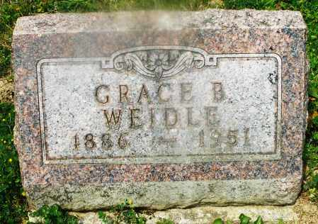 WEIDLE, GRACE B. - Montgomery County, Ohio | GRACE B. WEIDLE - Ohio Gravestone Photos