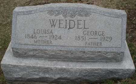 WEIDLE, GEORGE - Montgomery County, Ohio | GEORGE WEIDLE - Ohio Gravestone Photos
