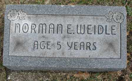 WEIDLE, NORMAN E. - Montgomery County, Ohio | NORMAN E. WEIDLE - Ohio Gravestone Photos