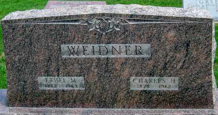 WELLER WEIDNER, ETHEL M - Montgomery County, Ohio | ETHEL M WELLER WEIDNER - Ohio Gravestone Photos