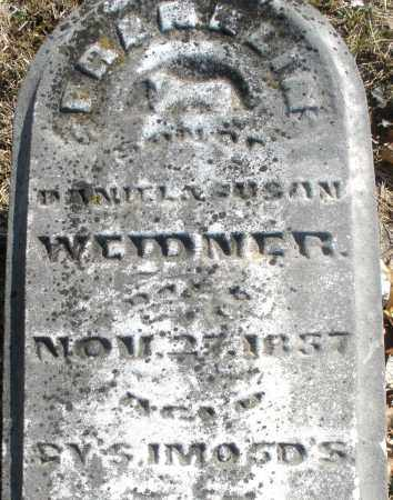 WEIDNER, FRANKLIN - Montgomery County, Ohio | FRANKLIN WEIDNER - Ohio Gravestone Photos